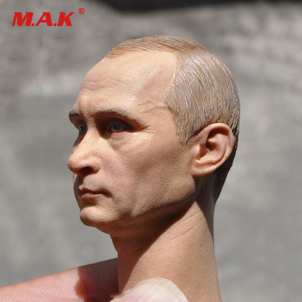 1:6 Scale Man Head Sculpt Russian President Putin Headplay Collections for 12 inches Action Figure Accessory 1 6 scale rifle gun model for 12 inches action figure accessories collections x80028 m700pss x80026 psg1
