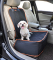 Pet Caranfront Seat Cover Cat Dog Seat Pprotector Mat Booster Seat Antislip Adjustable for Most Car Suv Struck