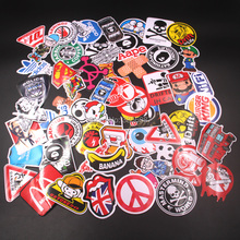 цена на 60pcs Mixed funny brand DIY Sexy stickers for Home decor  laptop sticker decal fridge skateboard doodle Car Motorcycle Bicycle