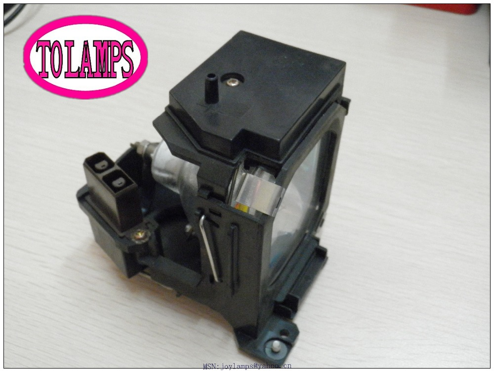 Replacement Projector Lamp V13H010L12 / ELPLP12 with Housing for Epson EMP 5600 / EMP 5600p / EMP 7600 / EMP 7600p