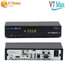 V7 Max Tv Vía Satélite Recibir Freesat Powervu Completo HDMI 1080 P Dvb-s2 Receptor de Satélite Soporte YouTube YouPorn cccam