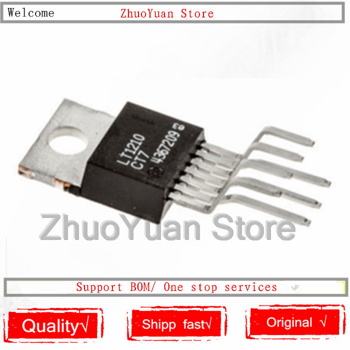 1PCS/lot New Original LT1210CT7 LT1210 TO-220-7 IC Chip