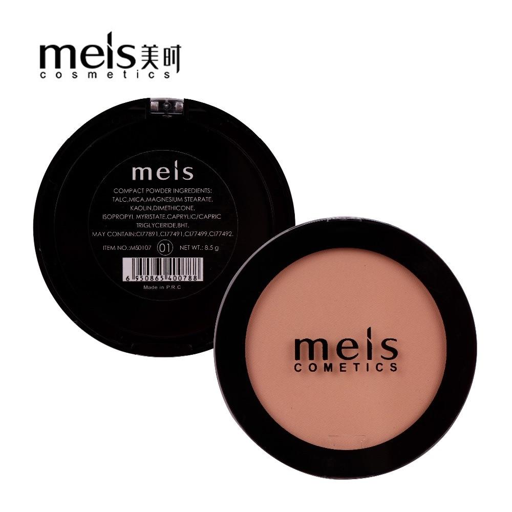 MEIS zīmola kosmētika profesionāla aplauzums sejas pulveris sejas segaustītājs aplauzums pulveris presēts pulveris mīksts smaids MS0107