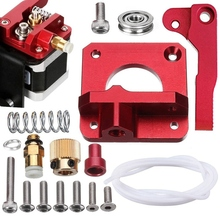 Upgraded MK8 Extruder Aluminum Drive Feed Replacement 3D Printer Extruders Kit for Creality CR-10,CR-10S,CR-10 S4,RepRap Prusa