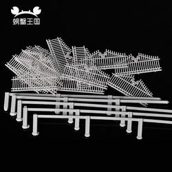 1 Meter DIY Model Railway Building Garden Fence Wall 1:100 HO OO Scale