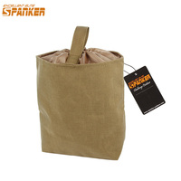 EXCELLENT ELITE SPANKER Outdoor Tactical Molle Recycle Pouch EDC Military Folding Recovery Storage Tool Bag Hunting