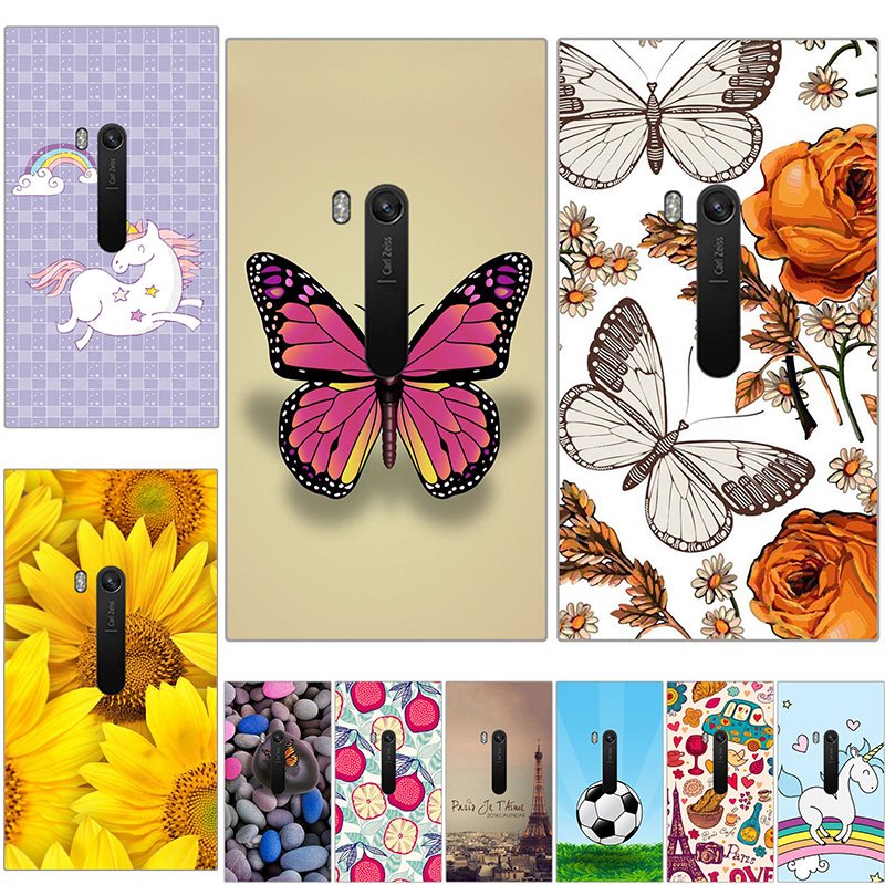 Hard plastic Case For Nokia Lumia 920 Colored Paiting Back Cover Shell For Nokia 920 Hard plastic Patterned fitted Phone Case image