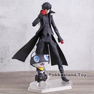 Image 2 - Persona 5 Shujinkou and Morgana Joker Figma 363 Moveable Action Figure Collection Model Doll Toy