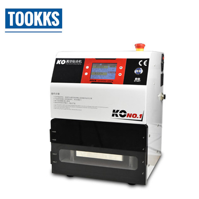 KO No 1 Universal OCA Vacuum Laminating Machine For Phones LCD Touch Screen Refurbish