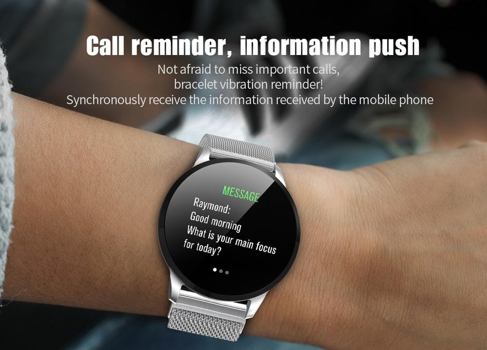 Montre intelligente  IP67 étanche Bluetooth