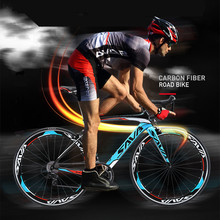 New Brand City Road Bike 48/50/52cm Carbon Fiber Frame Light Weight 18/20/22 Speed Break Wind Cycling Bicycle Racing Bicicleta