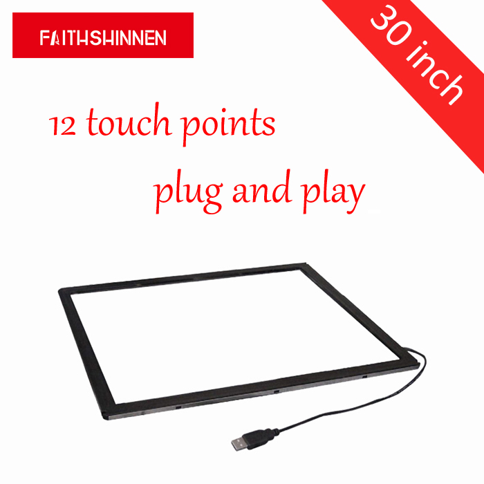 30 inch external touch screen infrared sensor touch screen frame 12 points touch 98 inch monitor ir touch screen 2 points infrared touch screen panel ir touch screen frame overlay with usb