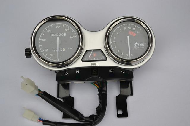 QS125-5/GT125//GSX 125CC высокое качество мотоцикл инструмент спидометр одометр сборка, А. Е. Доставка