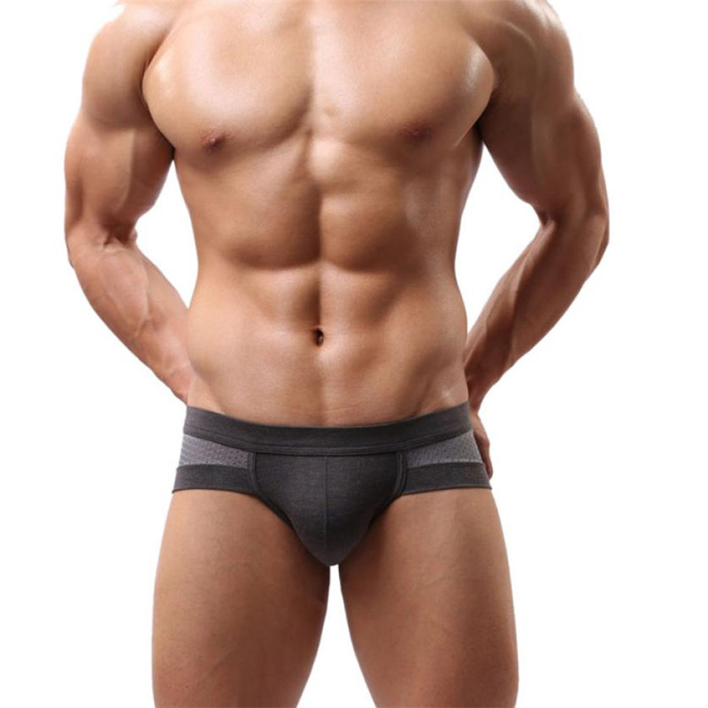 Soft Breathable Boxer Sexy Underwear Men Boxer Shorts Bulge Pouch Soft Underpants Sexy Low Waist Slip Cuecas Male Panties