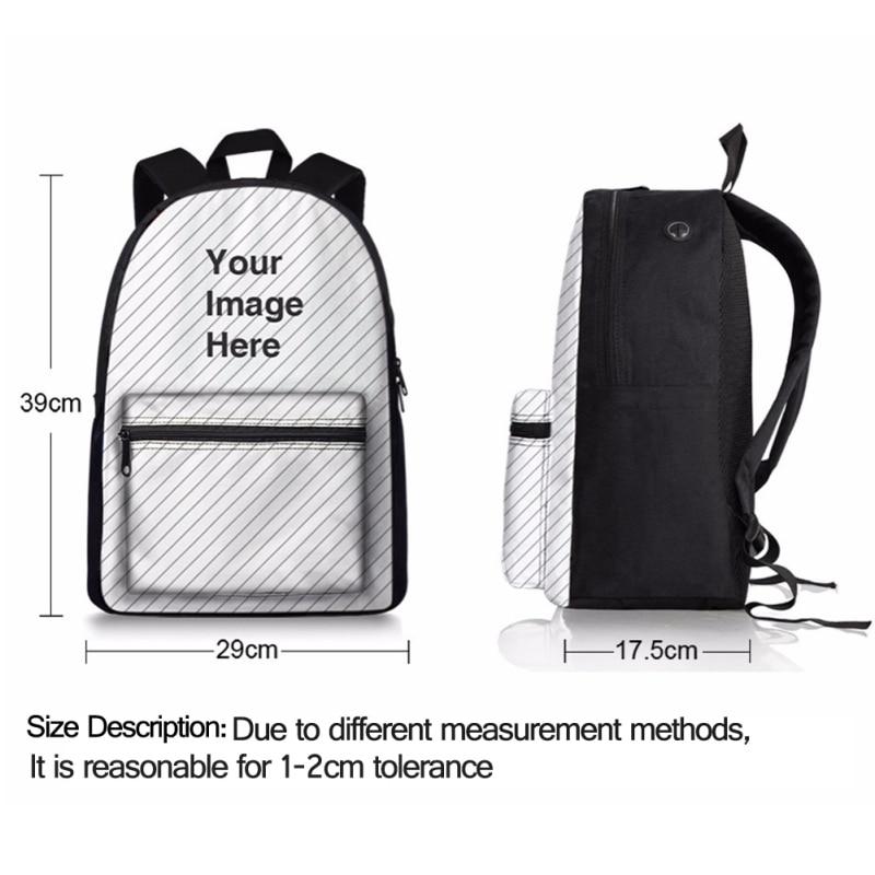 FORUDESIGNS Fashion Backpack Women Children Schoolbag Great Wave Pattern Back Pack 2018 Knapsack Backpack for School Teenager