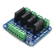 4 Channel SSR Solid State Relay Module 5V 2A For UNO R3 2560 Raspberry PI