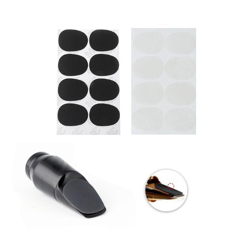 8pcs/Set Treble/Alto/Tenor Saxophone Clarinet Mouthpiece Patches Pads Cushions 0.3mm8pcs/Set Treble/Alto/Tenor Saxophone Clarinet Mouthpiece Patches Pads Cushions 0.3mm