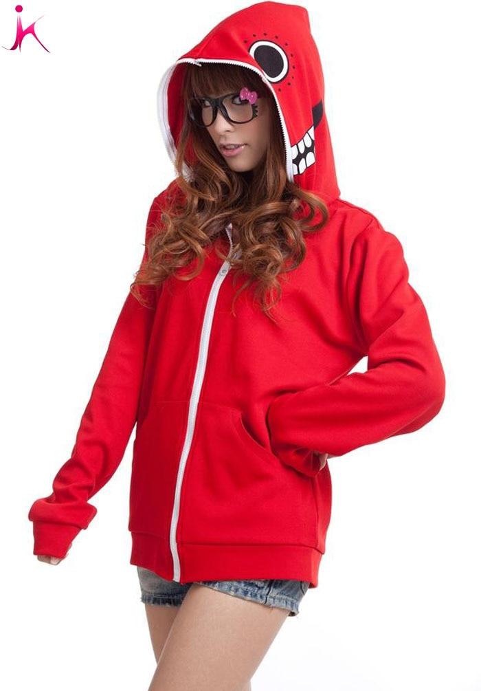 Hot sale Five Colour NEW 2013 design Hatsune Miku Hoody women Personalized Novelty Hoodie Jacket Cosplay Costume