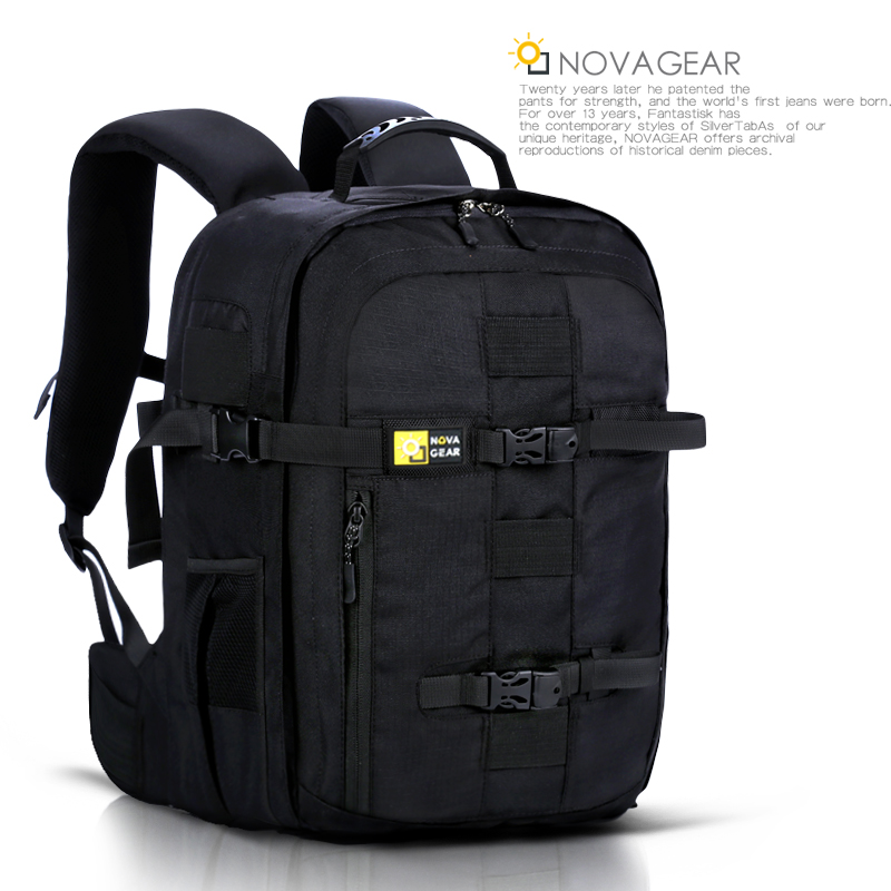 NOVAGEAR 134 DSLR Camera Bag Photo Bag Camera Backpack Universal Large Capacity Travel Backpack For Canon/Nikon Camera 9020 kamera bag camera backpack dslr camera bag travel camera backpack video photo universal bag for canon nikon camera digital