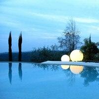 2018 горячая Распродажа Рождество 50 см гигантский Sphere изменение цвета RGB беспроводной водонепроницаемый наружного использования