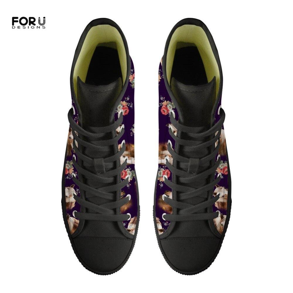 Casual Imprimé Dames cc3733z38 High Floral custom Toile Z40 Femme Femmes Vulcaniser Mode Chaussures Forudesigns Custom Z38 Printemps cc3732z38 cc3734z38 Cheval De Top Filles Appartements nXZN80PkwO