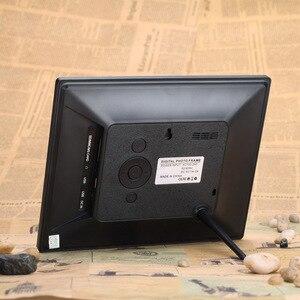 Image 3 - Andoer 8 ultracienki 1024*600 HD TFT LCD fotografia cyfrowa ramka budzik MP3 MP4 odtwarzacz filmów z pilotem pulpit