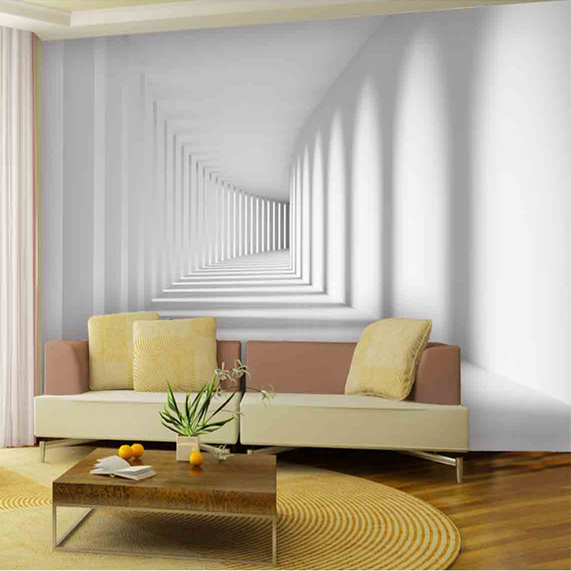 Aliexpress Com Buy Home Improvement Custom 3d Photo Wallpaper Modern Abstract Passway Art Mural Living Room Sofa Background Wall Papers Home Decor From
