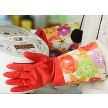 Increasing household gloves Kitchen Gloves for Washing Cleaning 11 42cm free shipping