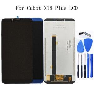 """Image 1 - 5.99 """"ل Cubot X18 زائد LCD + شاشة تعمل باللمس محول الأرقام ل Cubot X18 زائد 100% اختبار العمل LCD لوحة استبدال + أداة مجانية"""