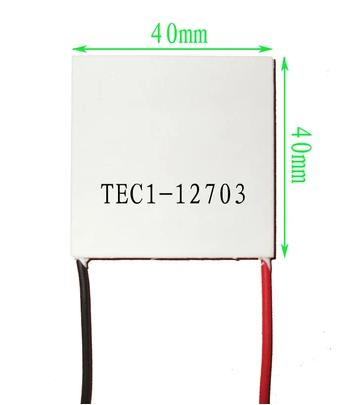 40mmX40mm TEC1-12704 TEC Thermoelectric cooling generator thermo Peltier Cooler40mmX40mm TEC1-12704 TEC Thermoelectric cooling generator thermo Peltier Cooler