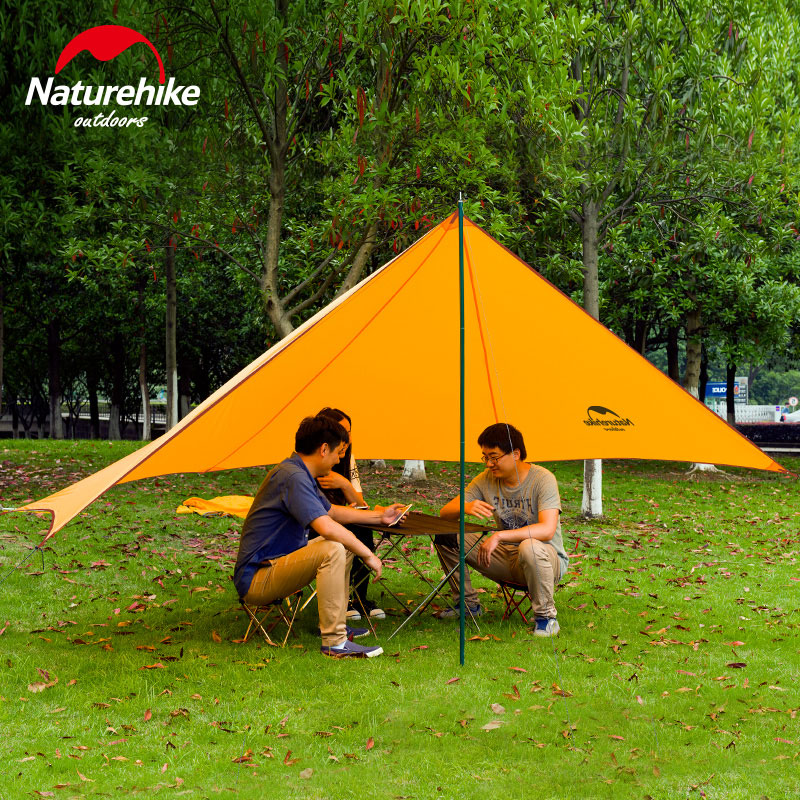 Naturehike New Outdoor ultraviolet proof Sunshade Waterproof Awning Canopy Tent Sun Shelter Outdoor Shade Tent naturehike beach awning tent gazebo 210t polyester tarp waterproof canopy outdoor camping sun tent tourists awning nh16t012 s