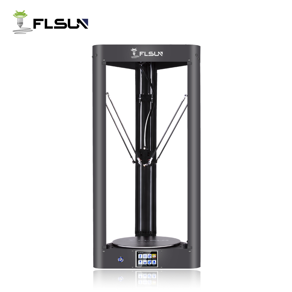 FLSUN Pre-assembled Delta 3d Printer with Printing Size 260X370 Auto Leveling Touch Screen WIFI Remote Control Heated Bed Auto hot bl touch auto leveling sensor bltouch 3d touch for 3d printer improve printing precision auto bed leveling touch sensor