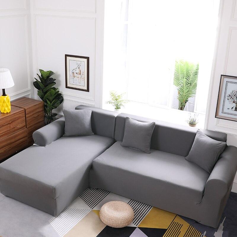 L Shaped Thicken Sofa Cover Spandex Sofa Slipcovers