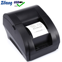 Zjiang POS Thermal Printer Mini 58mm USB POS Receipt Printer For Resaurant and Supermarket EU/US PLUG