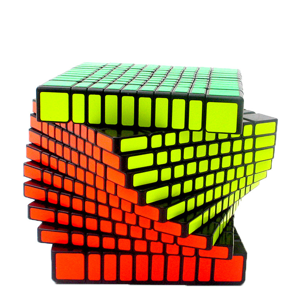 10x10x10 Cube Competition Magic Cube Puzzle Educational Toys for Children brand new shengshou 102mm plastic speed puzzle 10x10x10 magic cube educational toys for children kids baby