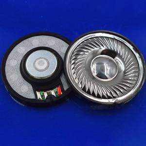 Image 5 - 50mm 32 ohm N48 magnes Film tytanowy napęd słuchawkowy wysokiej wierności DIY audiofilski Monitor słuchawki głośnik