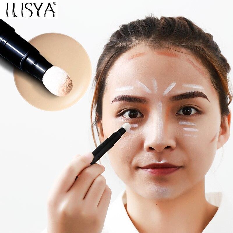Brand Cosmetic Air Cushion Concealer Stick Brighten Block Defect Concealer Cream Pen Natural Cover Panda Eyes Concealer Make-up