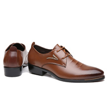 New Fashion Wedding Shoes Men Pointed Toe Oxfords