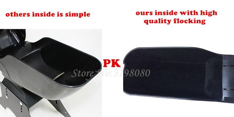Carbon Armrest Centre Console Black Fits Vw Passat 32b 35i 3b 3bg