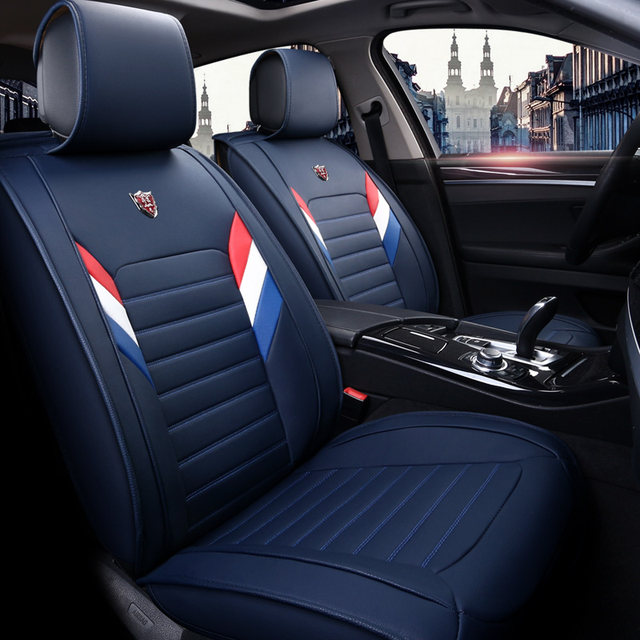 New PU Leather Auto Universal Car Seat Covers For Hyundai Creta I30 I40 Ix 25 35 Ix25 Ix35 Veracruz Cushion