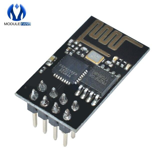 5 piezas ESP8266 ESP-01 ESP01 serie inalámbrica para Arduino transceptor receptor placa para Arduino Raspberry Pi 3 módulo WIFI