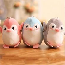 Plush Mini Penguin Pendant Cute Small Animal keychain Doll Key Chain Gift Wedding Party Toy