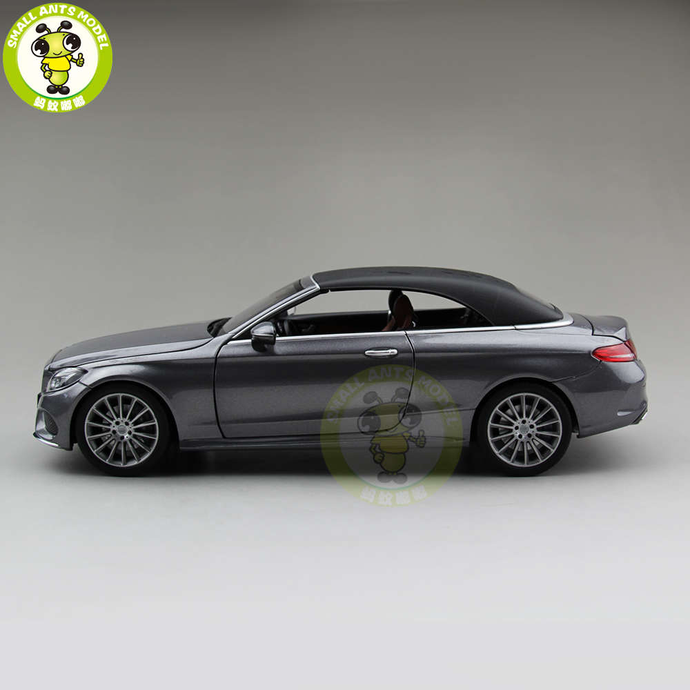 1/18 C Class Klasse Convertible C205 Diecast Metal Car Model Toys Boy Girl Birthday Gift Collection Hobby