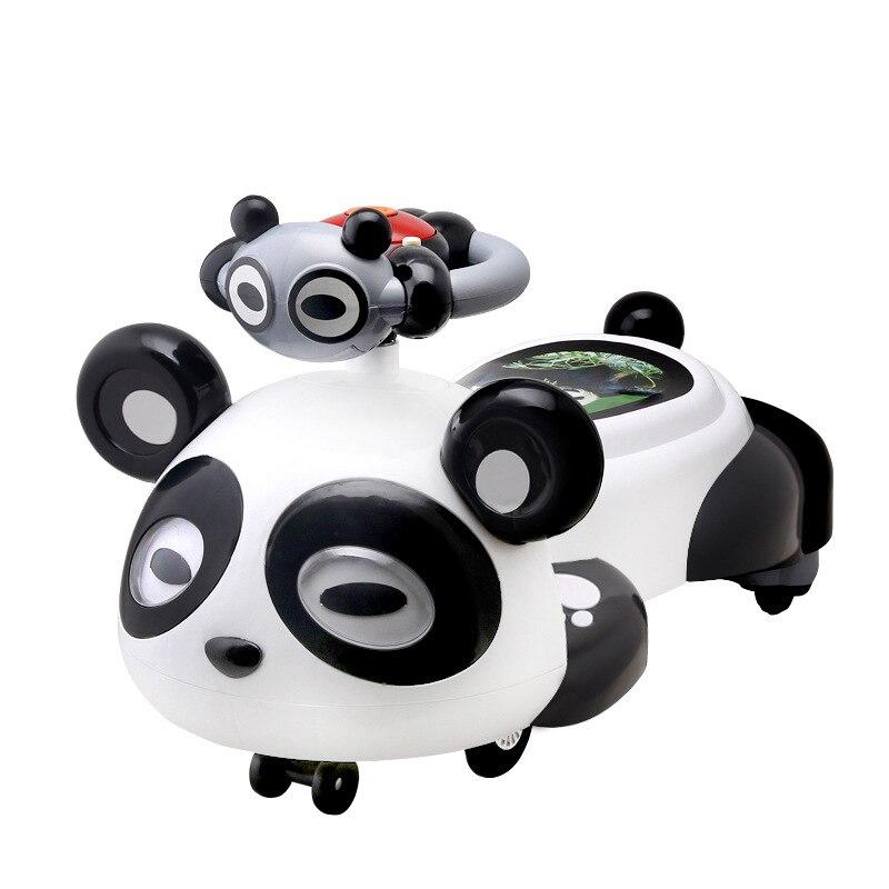 A + B детские ходунки twist автомобиль с музыкальной вспышкой mute wheel детские качели автомобиль детские горки 1 3 года машинка каталка Подарочная