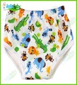 New Product For 2015 Bamboo Reusable And Waterproof  Minky Prints Baby Training Pants 10Pcs/Lot