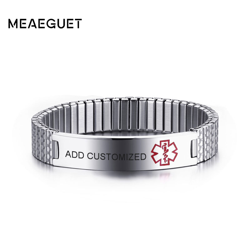 Meaeguet Customized Engraved Elastic