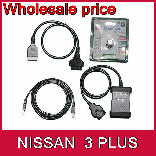 US $1385 0 |Free shipping Nissan Consult 3 plus kit diagnosis system Nissan  III for all Nissan Infiniti GTR with bluetooth 11 languages-in Code