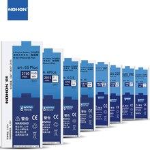 ФОТО nohon original phone battery for apple iphone 5s 5c 5 6 6s 7 plus se 4 4s replacement batterie internal batteries + repair tools
