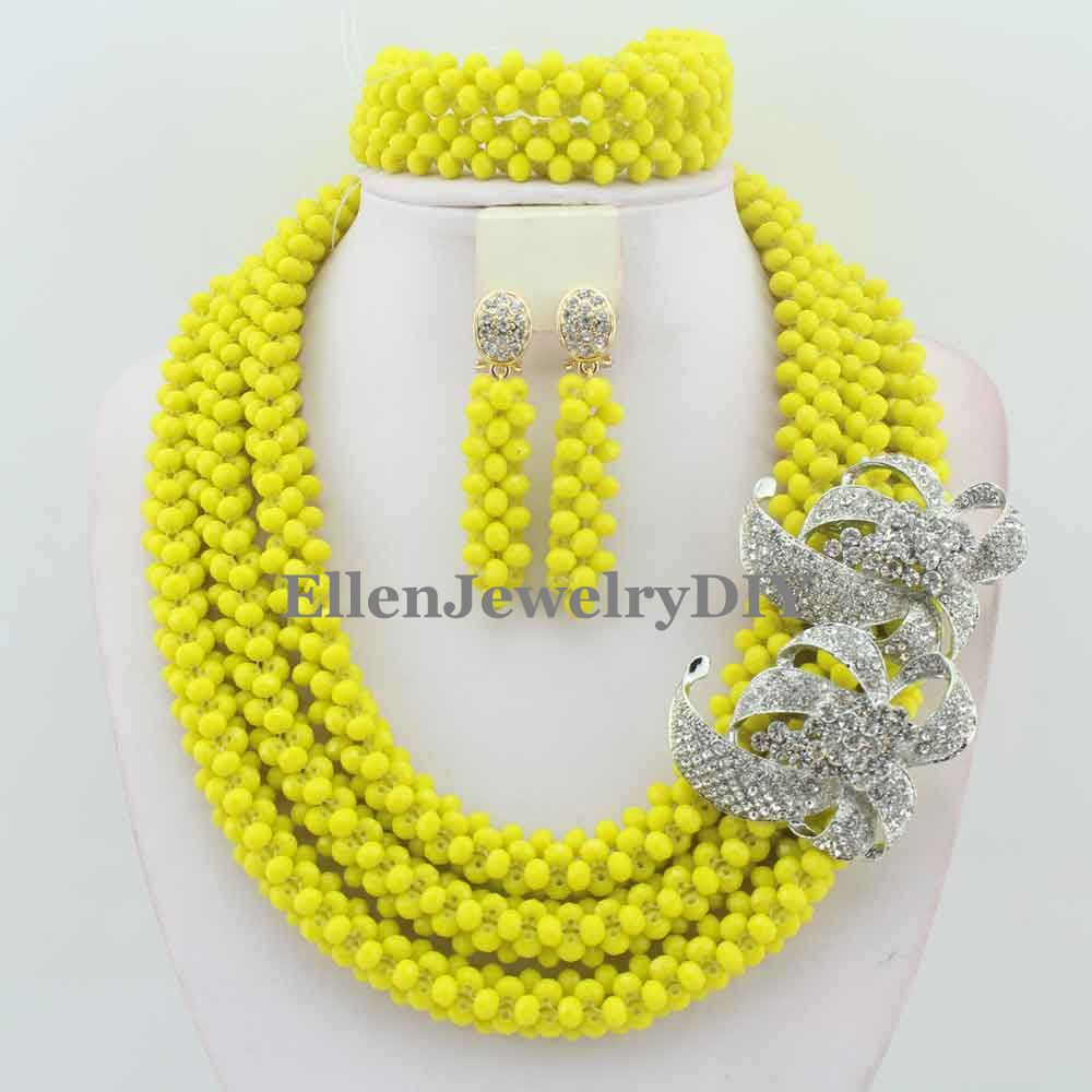 Fashionable African Beads Jewelry Sets Crystal Beads Jewelry Set Nigerian Wedding Bridal beads Necklace Jewelry Set W10560Fashionable African Beads Jewelry Sets Crystal Beads Jewelry Set Nigerian Wedding Bridal beads Necklace Jewelry Set W10560
