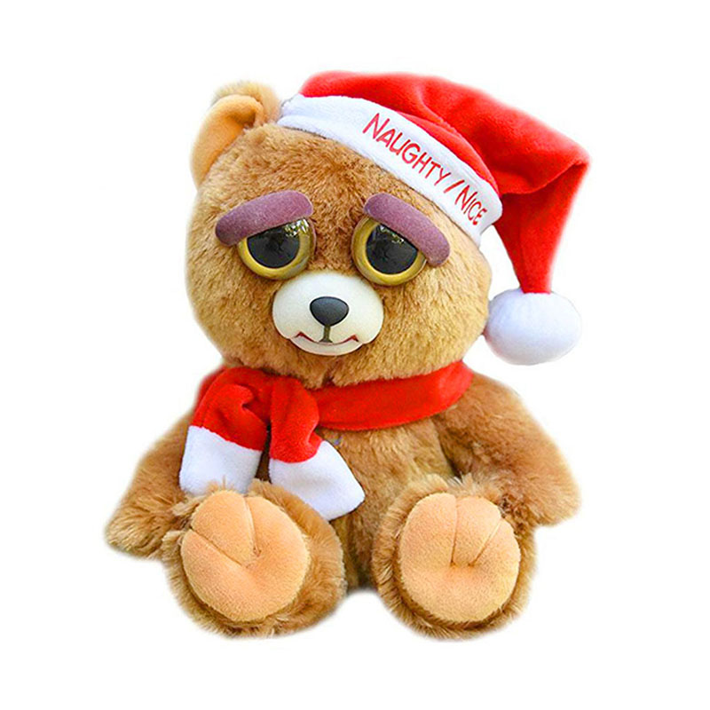 Change Face Feisty Pets is a naughty little pet face plush toy Christmas birthday gift evil